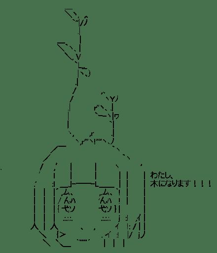 千反田える 「わたし、木になります!!!」 (氷菓)