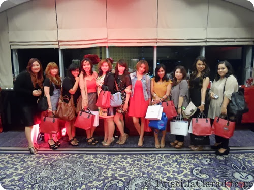 Priscilla Tresemme Keratin Treatment blogger group photo 2