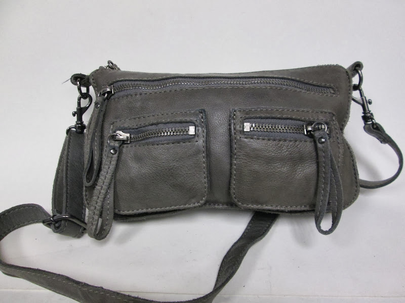 Linea Pelle Grey Purse