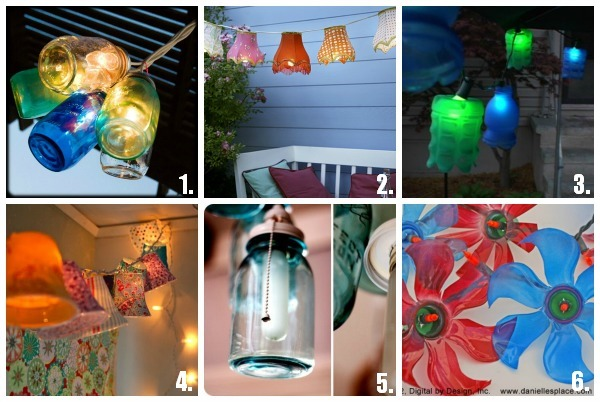 24 DIY Patio Lighting Ideas