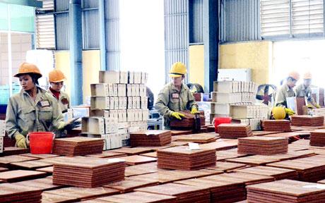 Đóng gói sản phẩm tại nhá máy Gốm Đất Việt