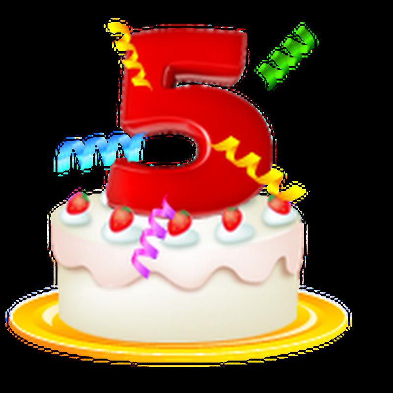 Cinco anos!!!