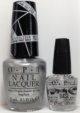 OPI Push and Shove with Lay Down That Base