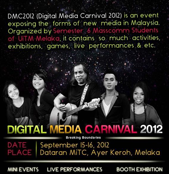 Digital media carnival 2012
