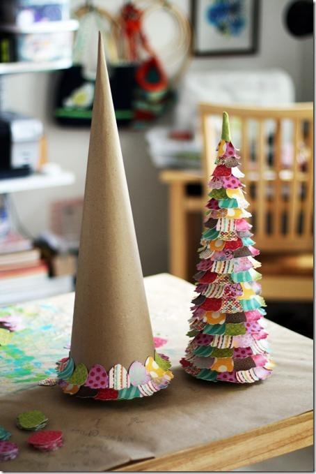 manualidades árbol de navidad (3)