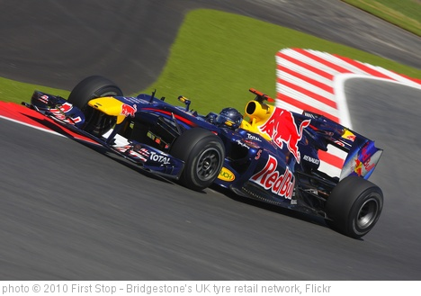 'British GP - Sebastian Vettel, Red Bull' photo (c) 2010, First Stop - Bridgestone's UK tyre retail network - license: http://creativecommons.org/licenses/by/2.0/