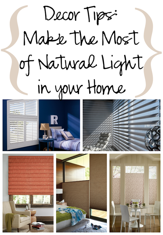 Décor Tips Make the Most of Natural Light in your Home #sponsored