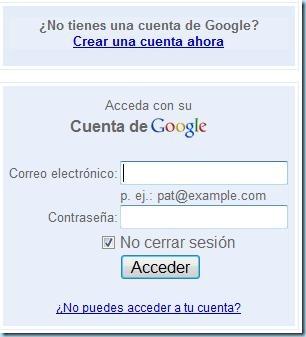 Acceder a Google anlytics