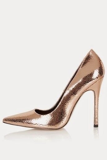 Topshop-Gallop-rose-gold-metallic-court-shoe