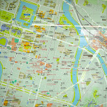 map of hiroshima in Hiroshima, Hirosima (Hiroshima), Japan