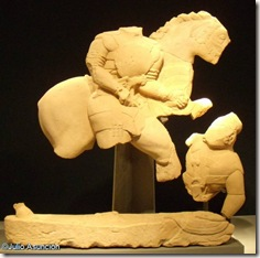 Lucha de guerreros - Museo de Jaén