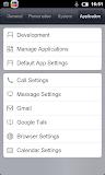 MIUI Nexus One - impostazioni applicazioni