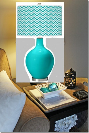 Colorful Table Lamp