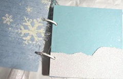 Winter Fun photo journal small snow pile pg3