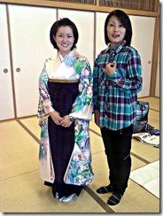 袴の他装着付け練習 (6)