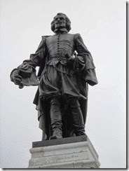 Samuel de Champlain. Monument Vieux-Québec