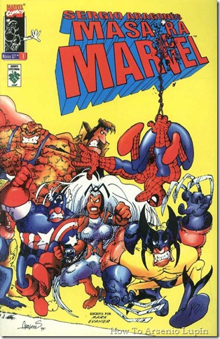 2011-10-21 - Sergio Aragones masacra Marvel y detruye DC