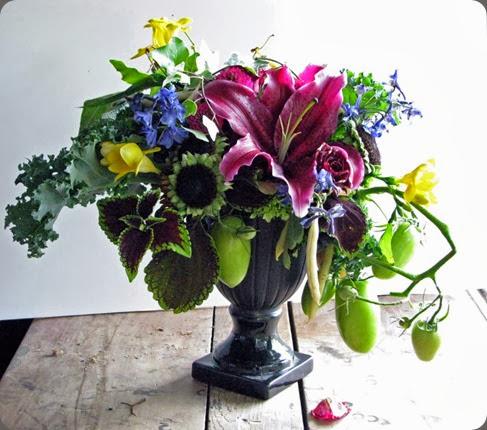 lilies bruce design