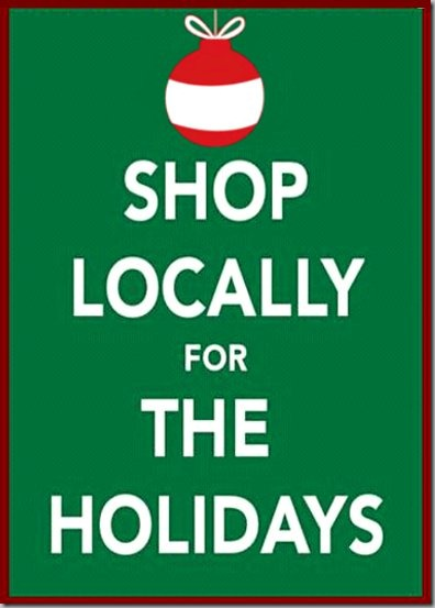 shop locally