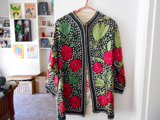 Vintage Embroidered Coat