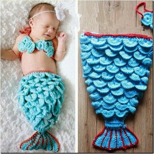 disfraz de sirena bebe (2)
