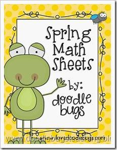 springmathsheets