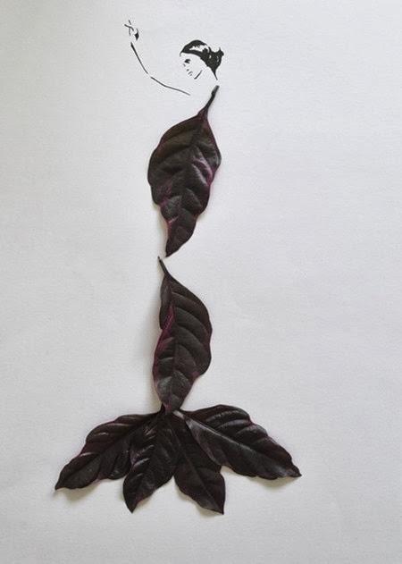 Folhas e traços 08