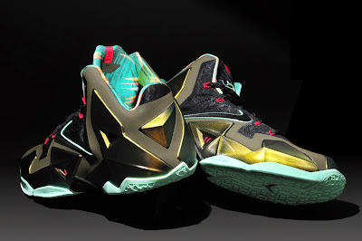 nike lebron 11 gr king of the jungle 9 04 kings pride Nike LeBron XI (11) Performance Review by Nightwing2303