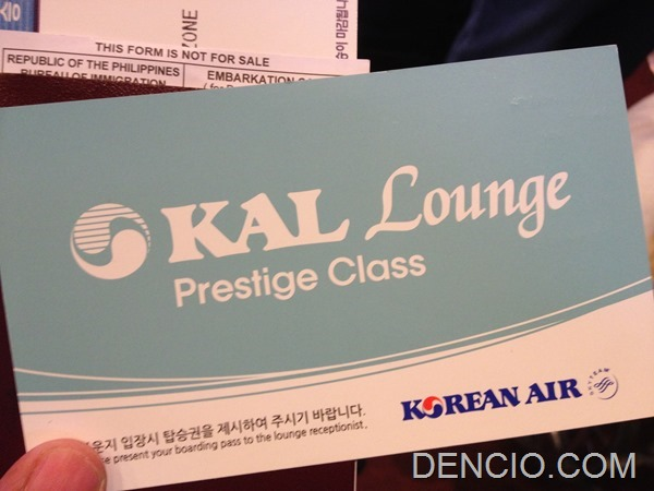 Korean Air Lounge NAIA 02