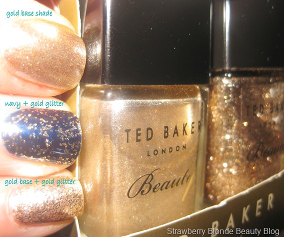Ted-Baker-Golden-Girl-Glitter-Nail-polish-duo-swatch