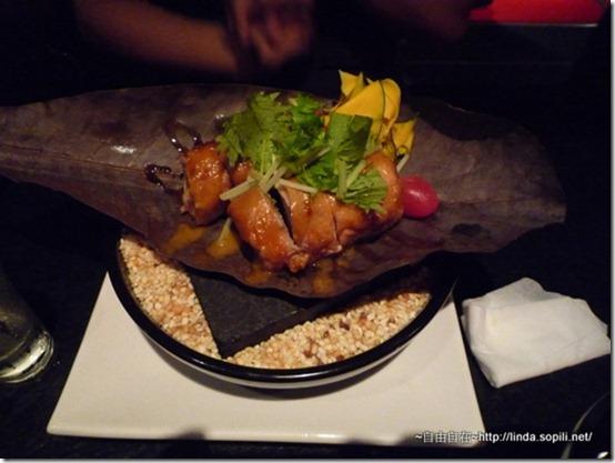 強肴-雞肉蒲葉燒