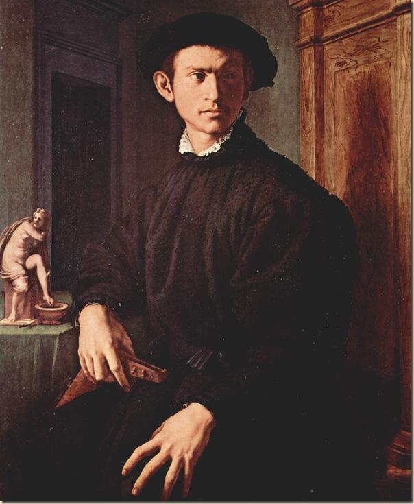 Angelo Bronzino, Portrait d'homme