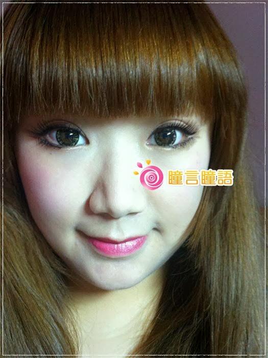 韓國GEO隱形眼鏡-芭比愛七彩鑽石咖10