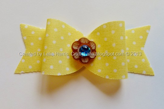 chantilly textiles fabric bow cut from Artiste Cricut