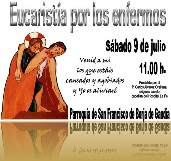 Eucaristía por los enfermos 9 julio 11