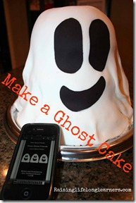 Ghost Cake Tutorial