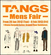 2013 Tangs Mens Fair 1 Utama Shopping Centre Malaysia Branded Shopping Save Money EverydayOnSales