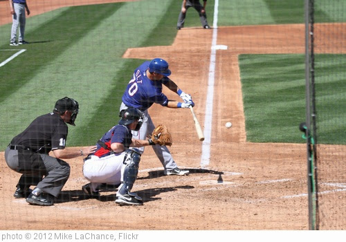 'Mike Olt going after a good pitch' photo (c) 2012, Mike LaChance - license: https://creativecommons.org/licenses/by/2.0/