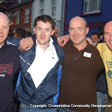 The Baber and the Baldies team who took part in the Traders' Race in the Crossmolina Festival. The event was sponsored by Ballina Beverages Coca-Cola. Picture: John O'Grady.