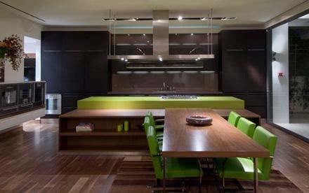 cocina-casa-de-lujo-en-Hollywood-Hills