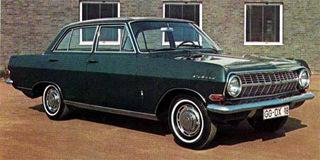Opel Rekord A 1963