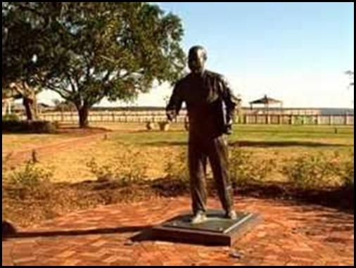 Bucky statue