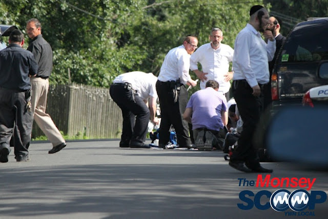 4 Year Child Struck By Vehicle On Roberts Rd (Moshe Lichtenstein) - IMG_5321.JPG