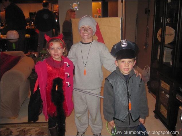 erin jake kyle 2011 halloween
