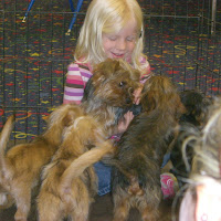 Preschoolers Enjoying A Puppy Party :)
