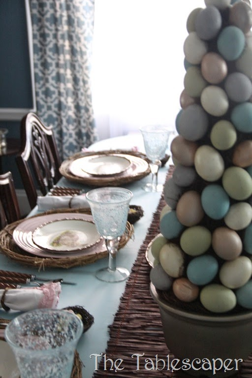 Rustic Rabbits Easter Tablescape - The Tablescaper02