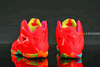 nike lebron 11 gs fruity pebbles 2 08 Another Look at Fruity Pebbles LeBron 11 GS (621712 600)