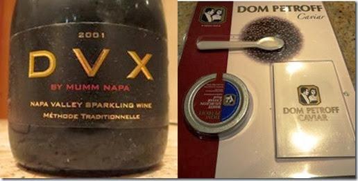 DVX and caviar