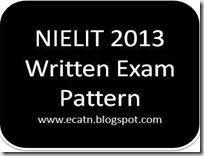 nielit 2013 exam