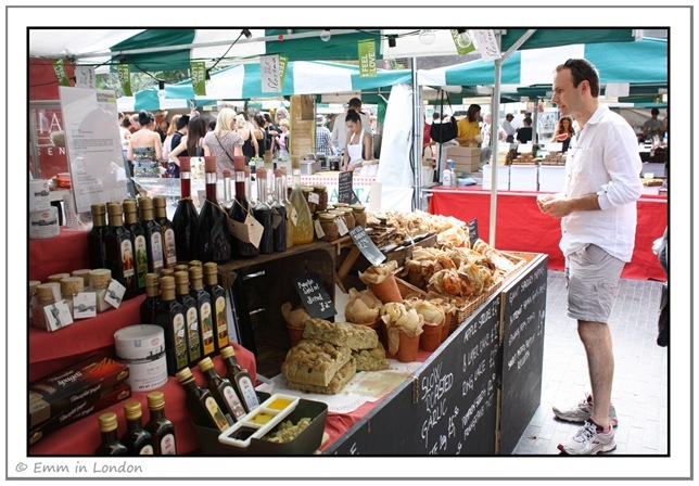 Olive Oil and Bread at the Real Food Market